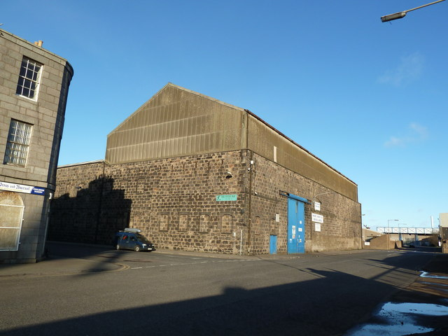 Warehouse, York Place, Aberdeen