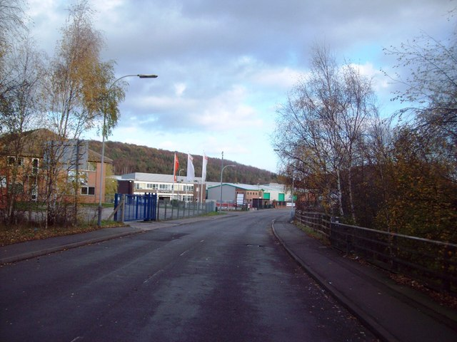 Broombank Road on Sheepbridge Trading Estate