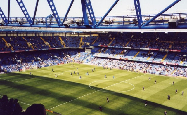 Warm up - Chelsea vs. Everton