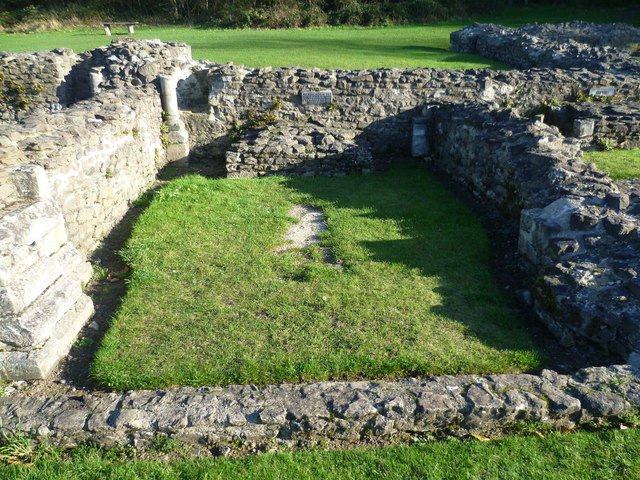 Burial place of the heart of Roesia of Dover, Lesnes Abbey