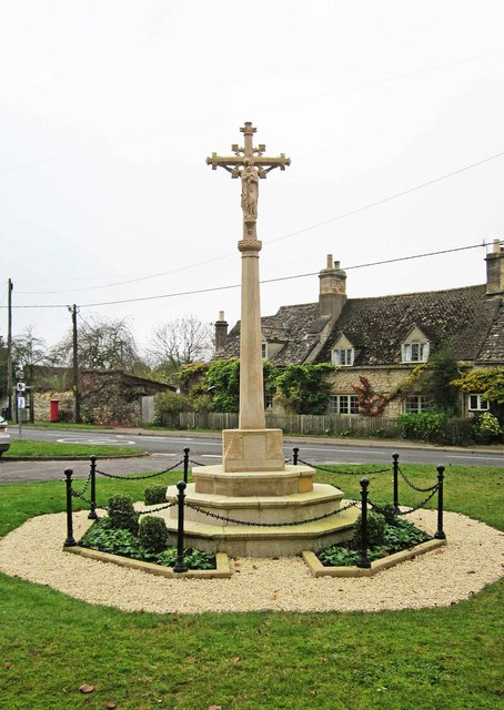 Cassington War Memorial (3), The Green, Cassington