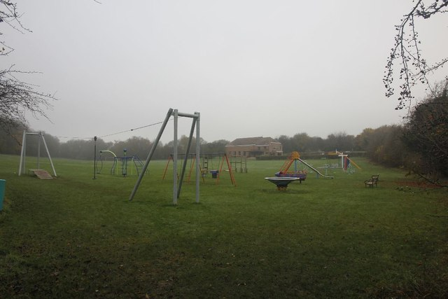 Playground by the path