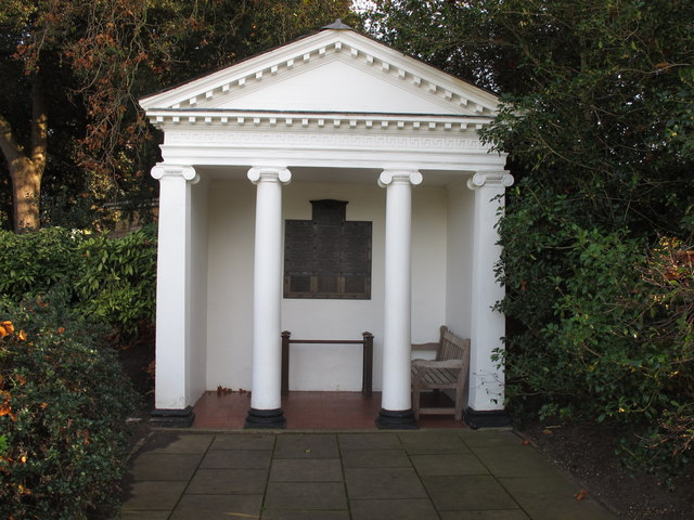 Kew Gardens war memorial, Temple of Arethusa