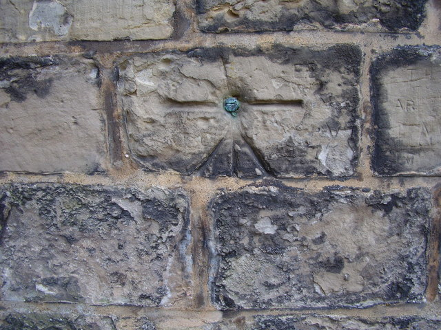 Northfield church, Ordnance Survey bolt