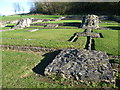 TQ4778 : View towards the high altar at Lesnes Abbey by Ian Yarham