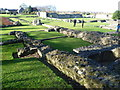 TQ4778 : The church at Lesnes Abbey by Ian Yarham