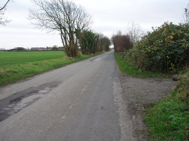 Small Lane North, looking south