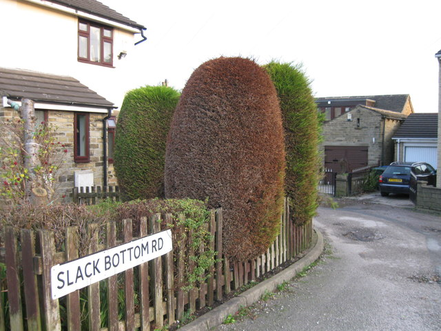 Slack Bottom Road, Wibsey Slack