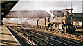SJ4167 : Up  express from North Wales passing Chester General station by Ben Brooksbank