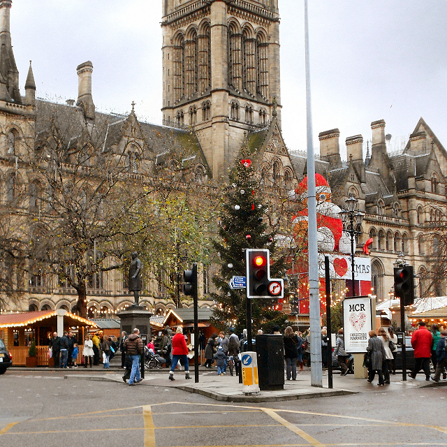 Manchester Christmas Markets, Albert Square