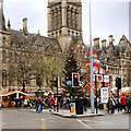 SJ8398 : Manchester Christmas Markets, Albert Square by David Dixon