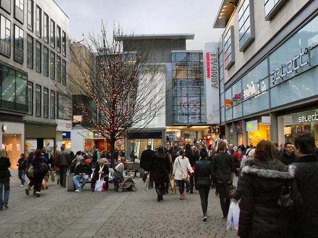 Food Market Near Liverpool Street
