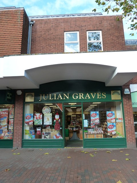 Lewes High Street: Julian Graves
