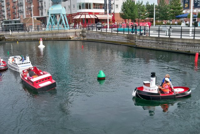 Electric Boats at Gunwharf Quays - Portsmouth