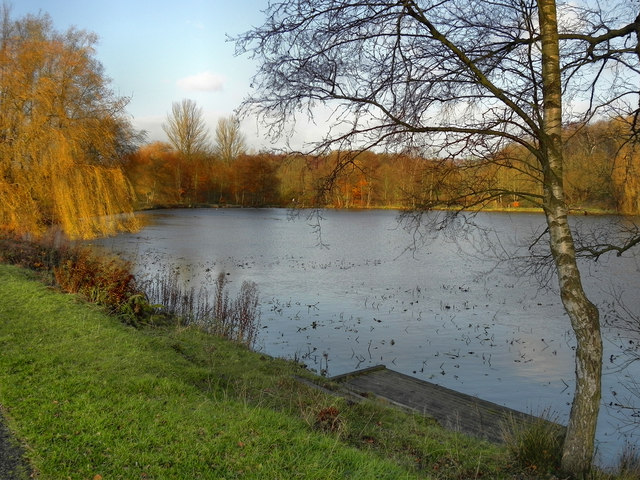 Fishing Lodge, Moses Gate Country Park