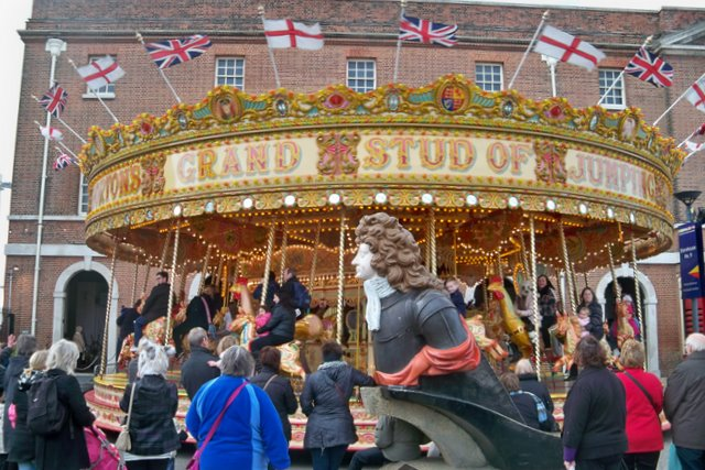 Merry Go Round - Portsmouth Historic Dockyard