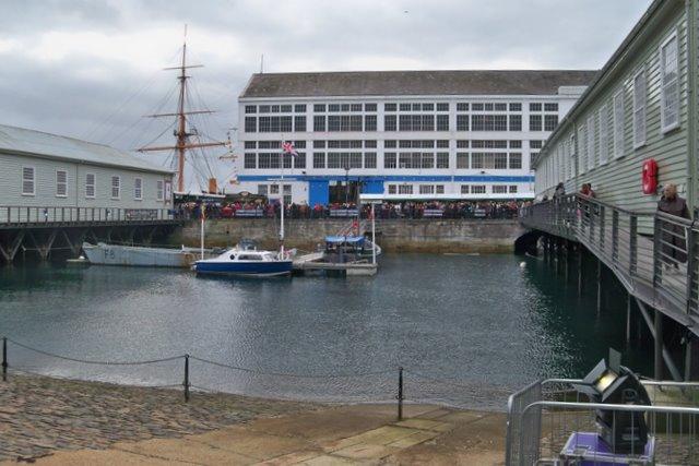 The Mast Pound - Portsmouth Historic Dockyard