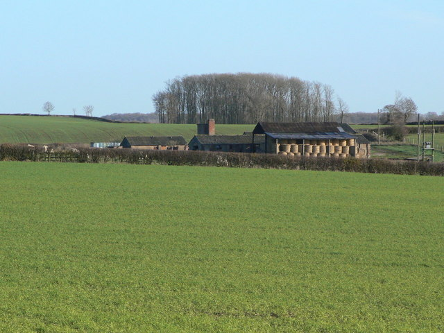 Farm buildings near Burton