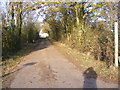 TM2575 : North Lane footpath to Top Lane by Adrian Cable