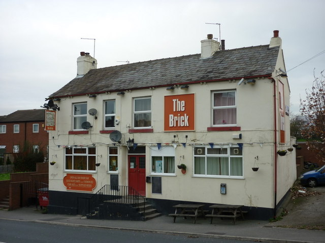 The Brick public house on Tong Road