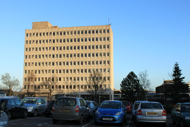 Office Block  Kingdom Shopping Centre Glenrothes