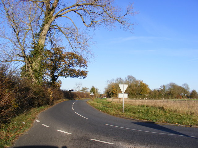 B1117 Laxfield Road