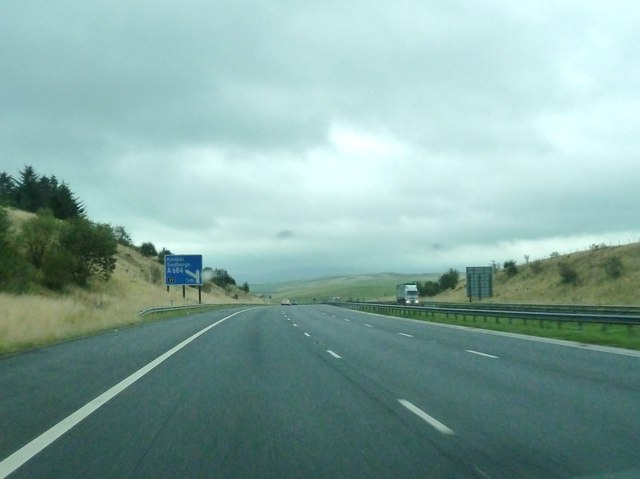 1/2 mile to junction 37, M6 northbound