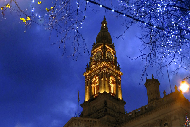 Bolton Town Hall Clock Tower