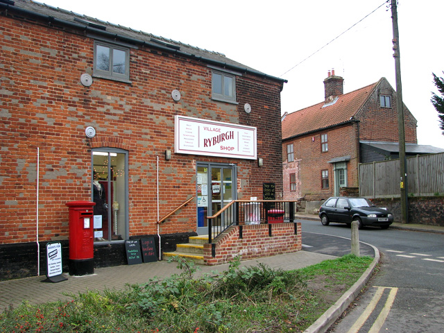 Village shop and Post Office, Great Ryburgh