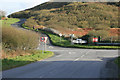 SW9556 : Crossroads on the B3279 by roger geach