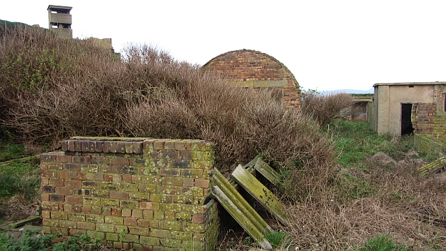 Hut ruins, Inchmickery
