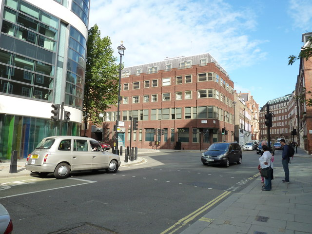 Approaching the junction of Marsham Street and Great Peter Street