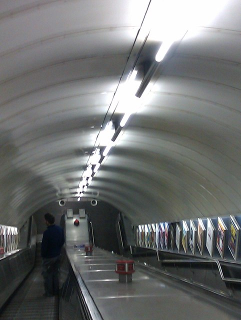 Escalators, Stockwell Underground Station SW4