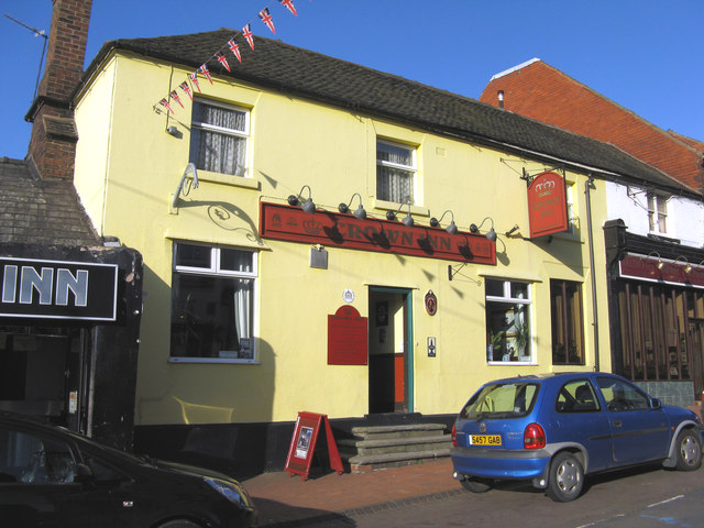 Oakengates, Shropshire: 'Crown Inn', Market Street