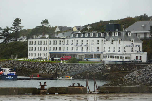 The Lochalsh Hotel, Kyle of Lochalsh