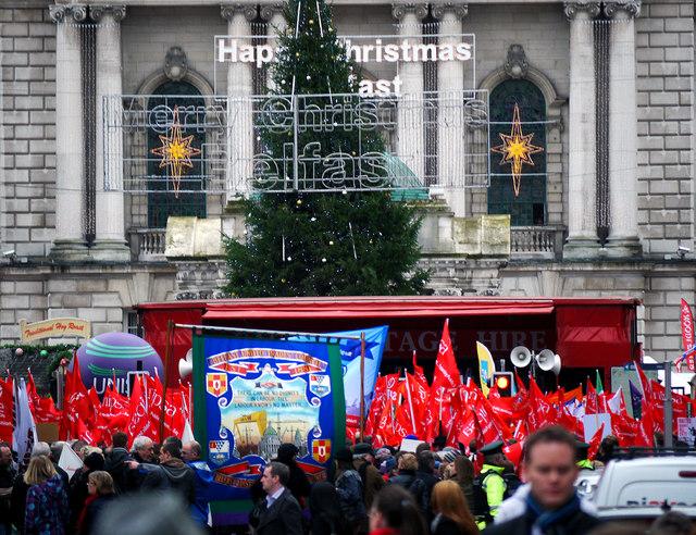 Trade Union Rally, Belfast