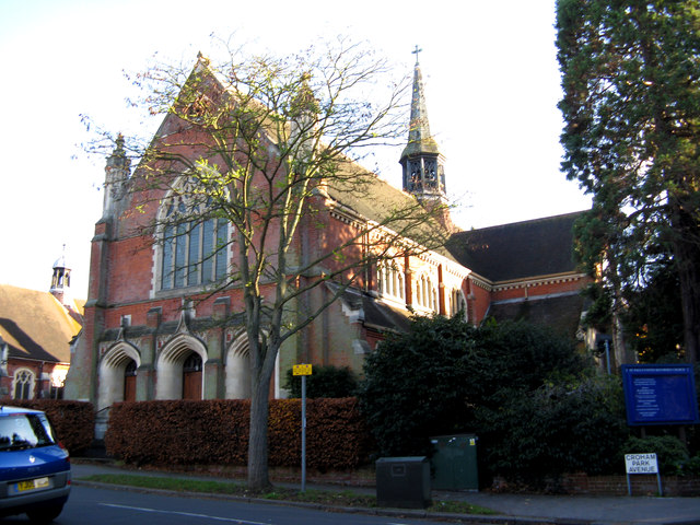 South Croydon:  St. Paul's Church (URC), Croham Road
