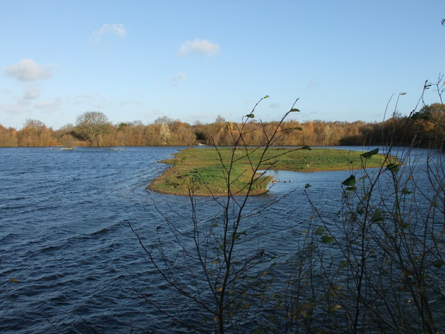 Lake at Whisby Nature Park