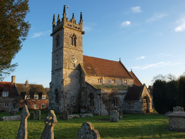 The Parish Church at Great Wishford