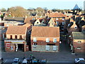 SK9771 : Looking down at St. Paul's Lane  Lincoln by PAUL FARMER
