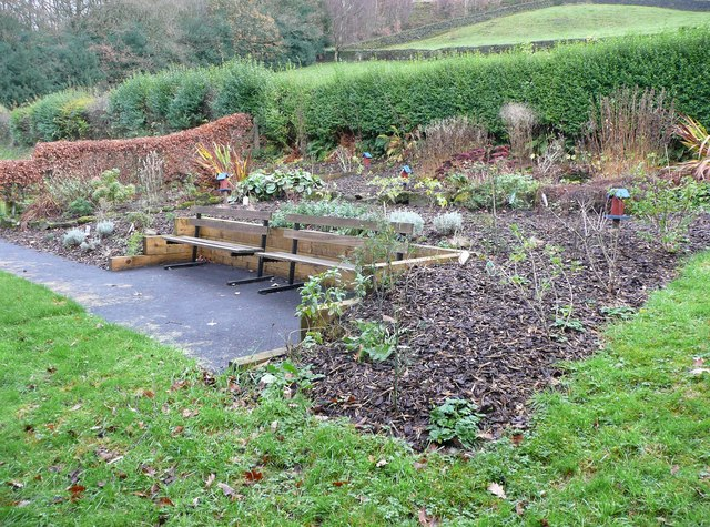 Community garden in Cragg Vale Park