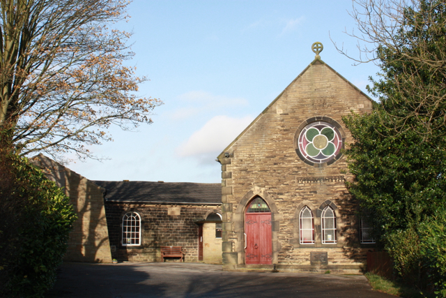 The old Wesleyan Methodist Chapel, Eldwick
