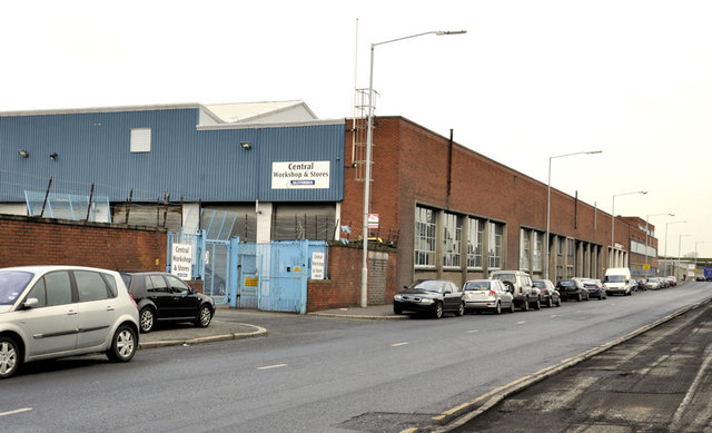 Ulsterbus workshops, Belfast