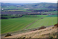 TQ4406 : View from Beddingham Hill by Robin Webster