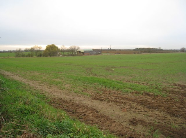 View towards Beck Farm