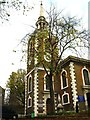 TQ3579 : St. Mary's Church, Rotherhithe by Mike Quinn