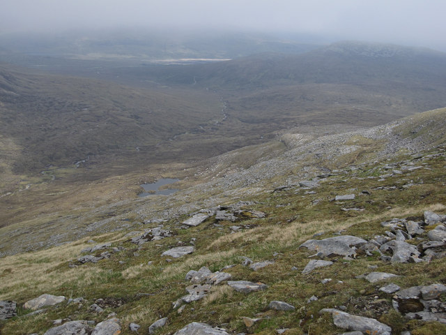 Flank of Meall Gorm