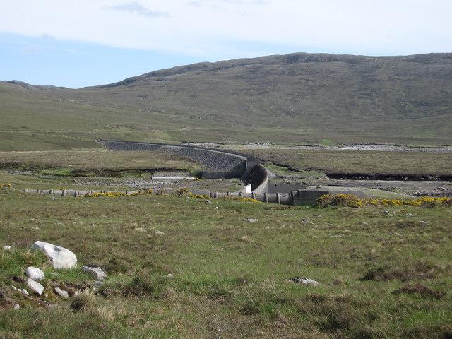 Loch Fannich Dam