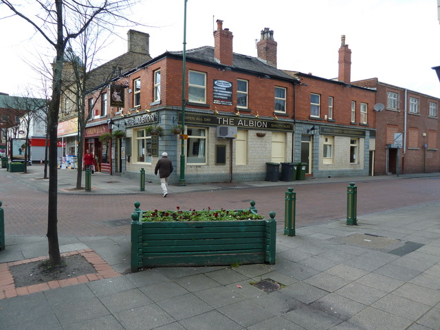 The Albion, Market Place, Hyde