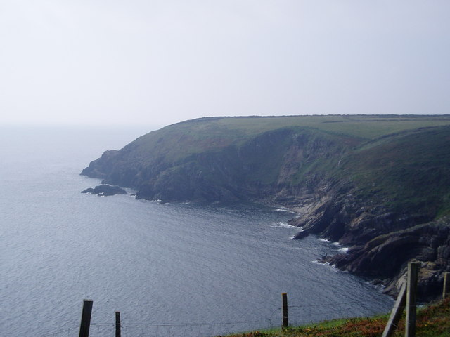 Cliffs near Dysert, Ardmore